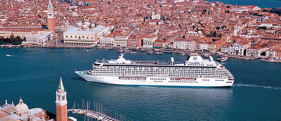 Crystal Serenity à Venise