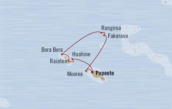 croisières de luxe en polynésie