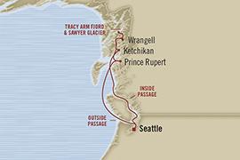 oceania croisière alaska 2015