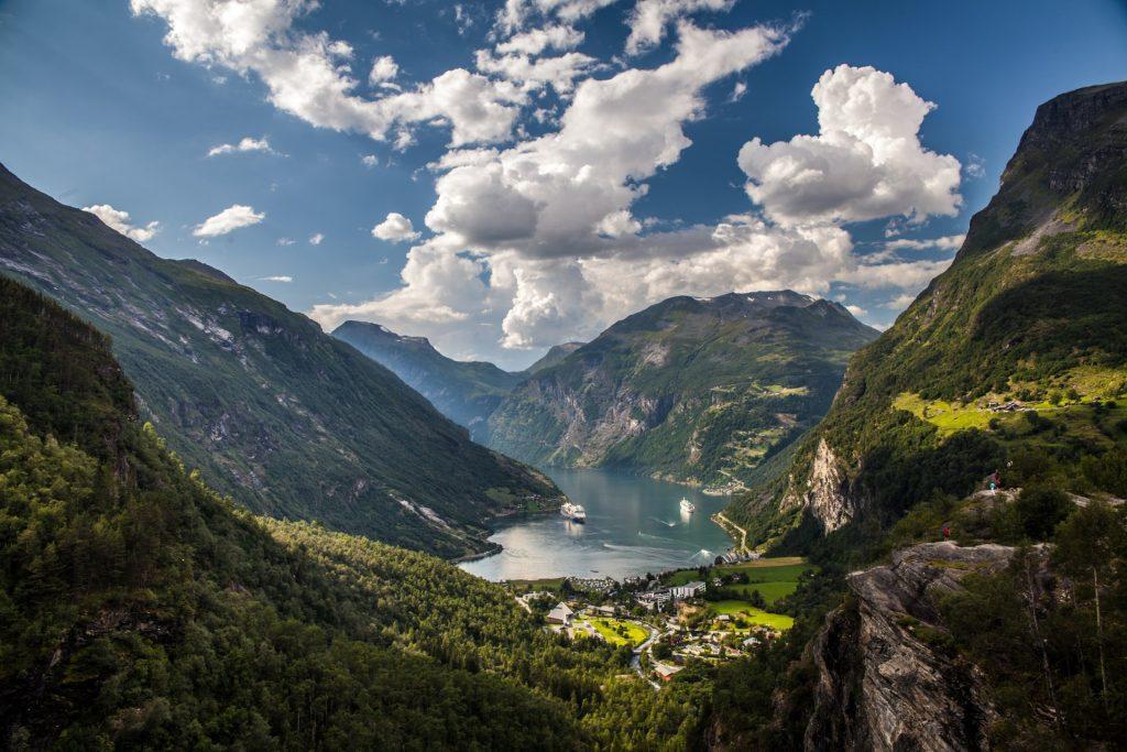 Croisière dans le fjord de Geiranger en Norvège