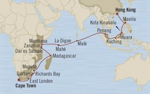 oceania cruises asie 2015