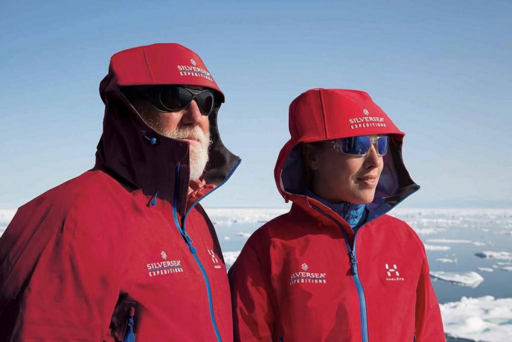 Nouvelle veste pour les croisières expéditionnaires Silversea Cruises