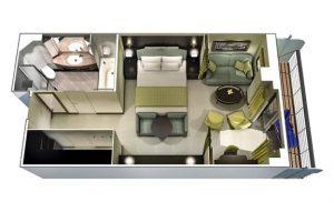 Croisière Oceania Cruises Penthouse Suites