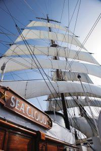 Le voilier de croisières Sea Cloud
