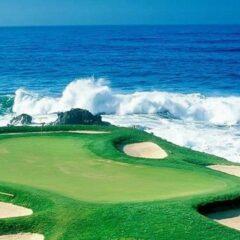 Croisières golf 2013 à bord de Crystal Cruises.